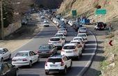ترافیک سنگین در آزادراه قزوین-کرج/ تردد در محور چالوس روان است