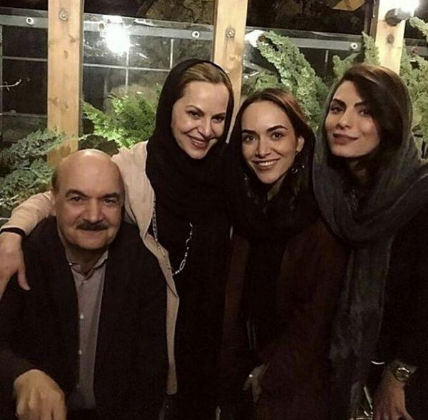 ایرج طهماسب و خانواده اش + عکس