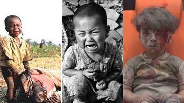 تصاویر تأثیرگذار از کودکان که جهان را تکان داد