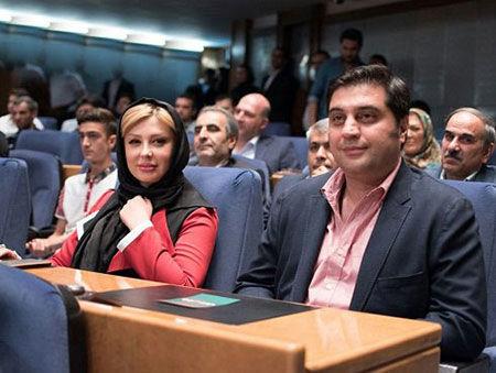 تیپ اتوکشیده نیوشا ضیغمی و همسرش+عکس