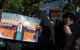 آخرین وداع «چشمهای بارانی» با «عالم ربانی»/ شیخ انقلاب در جوار «سیدالکریم» آرام گرفت+ عکسهای حاشیه