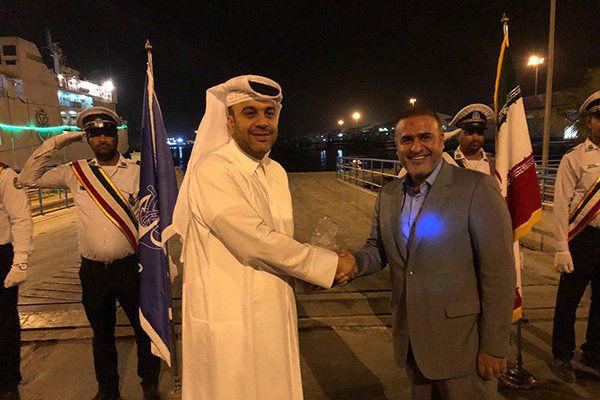 اتصال بنادر قطر به بنادر جنوبی ایران بر اساس نوع فعالیت
