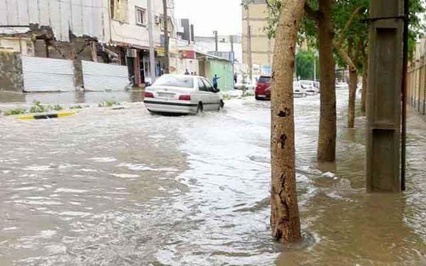 هشدار هواشناسی درباره آبگرفتگی معابر مازندران