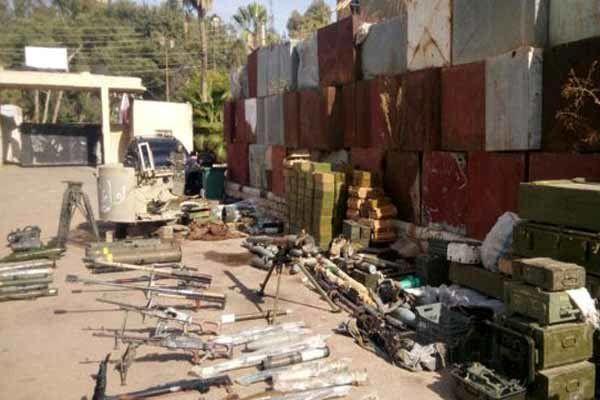 کشف سلاح آمریکایی و اسرائیلی در حومه درعا