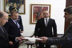 سفیر جدید ایران در لبنان استوارنامه خود را تقدیم میشل عون کرد