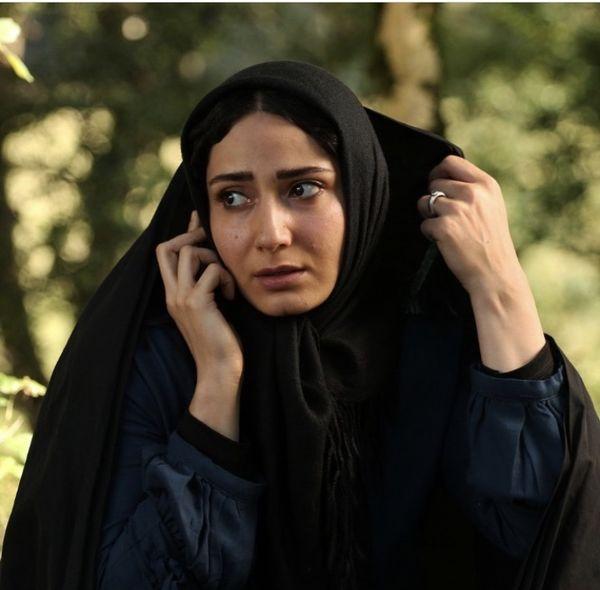سمیرا حسن پور با چادر + عکس