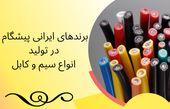 برند ایرانی قدرت برتر در تولید سیم و کابل
