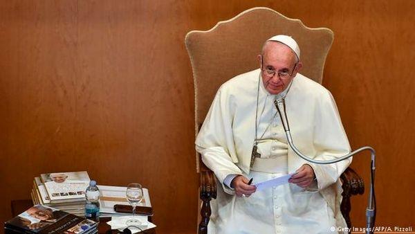 پیام پاپ در صدمین سالگرد پایان جنگ جهانی اول