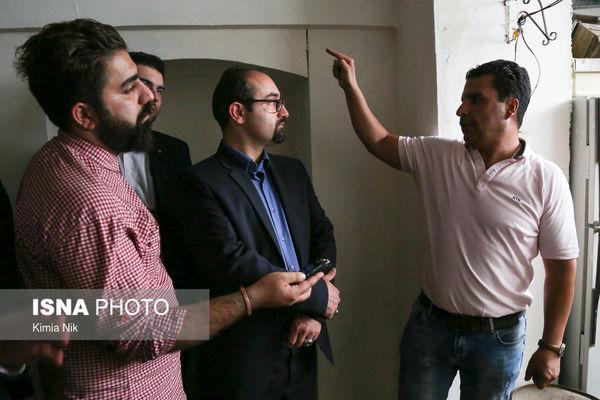 خانه پدری فروغ در تهران +عکس