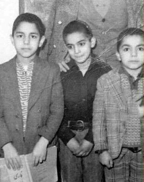 کودکی کارگردان و بازیگر طنز سینمای ایران + عکس