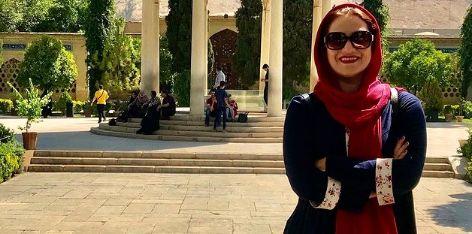 شبنم مقدمی در حافظیه + عکس