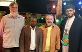 دوستان نیجریه ای آقای بازیگر + عکس