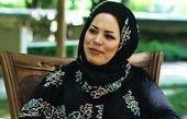 ملیکا شریفی نیا کنار بازیگر بالشها/عکس