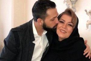 بازیگر جنجالی و پرحاشیه در کنار مادر زنش+عکس