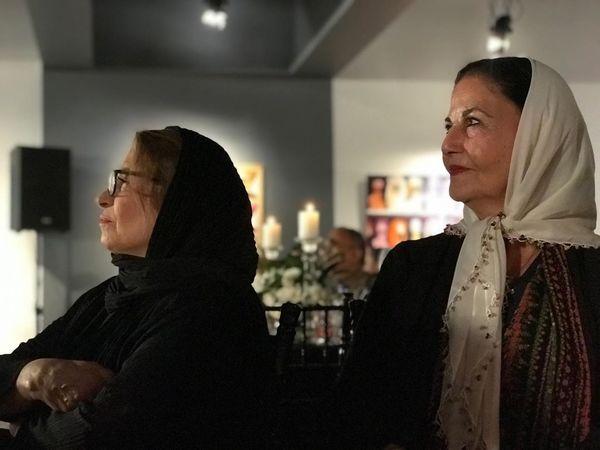 دو خانم بازیگر و مجری معروف قبل انقلاب در یک قاب+عکس