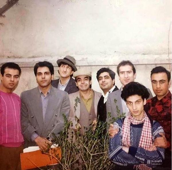 عکس دیدنی و قدیمی از غول های طنز ایران
