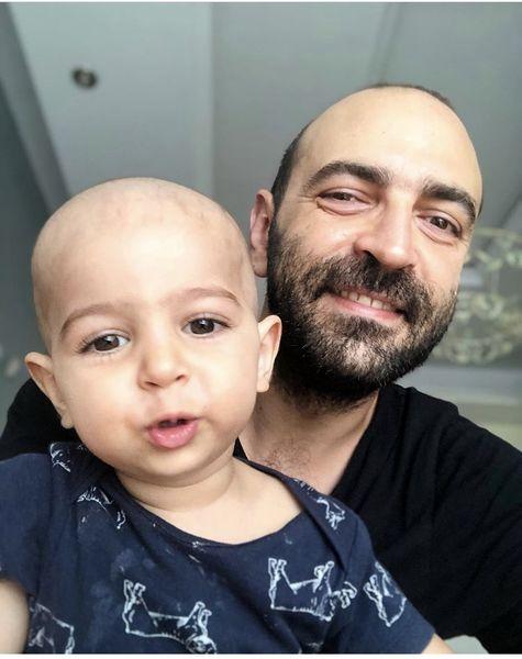 سلفی پدرانه مهران نائل + عکس