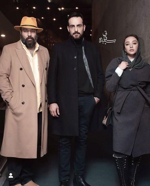 استایل متفاوت علی اوجی و حامد کمیلی در یک مراسم + عکس