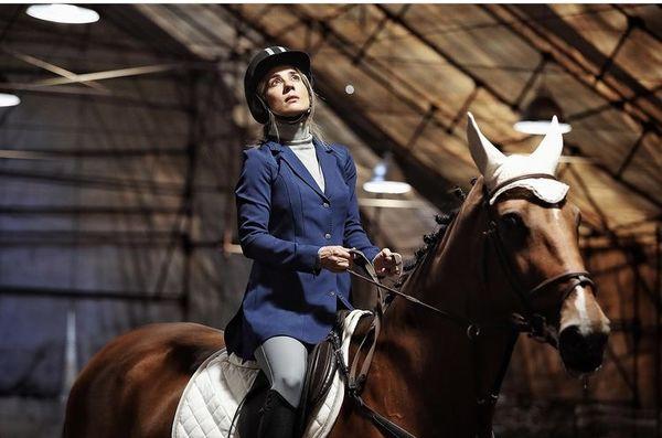اسب سواری سارا بهرامی + عکس