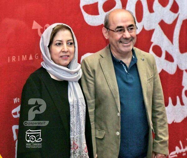 عکس کمال تبریزی و همسرش