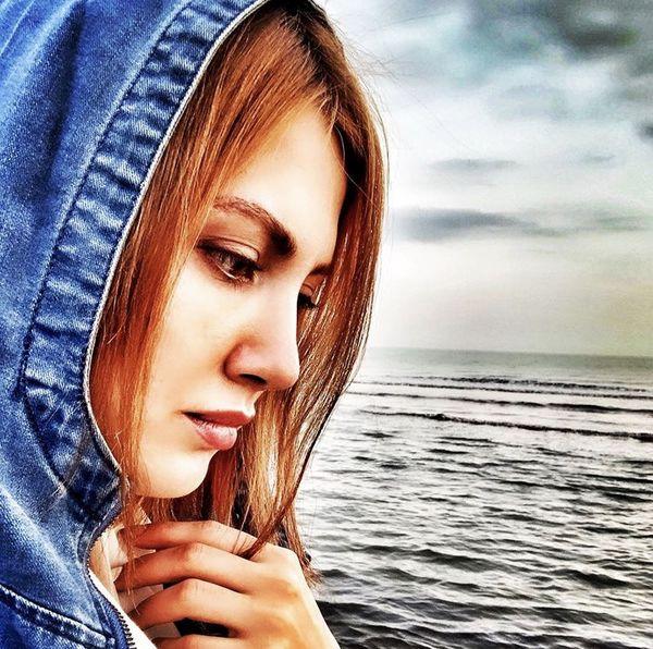 سمیرا حسینی لب دریا + عکس