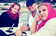 گردش سیروس گرجستانی با همسر و عروسش+عکس