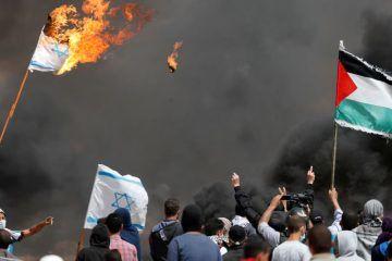 ادامه تظاهرات بازگشت/ درگیری شدید فلسطینیها و نظامیان صهیونیست