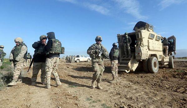 حمله به نظامیان آمریکایی با گاز خردل در عراق