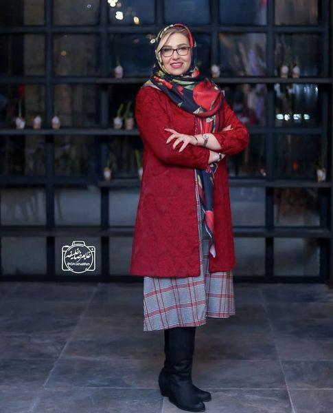 معصومه کریمی با استایلی شیک در یک مراسم + عکس