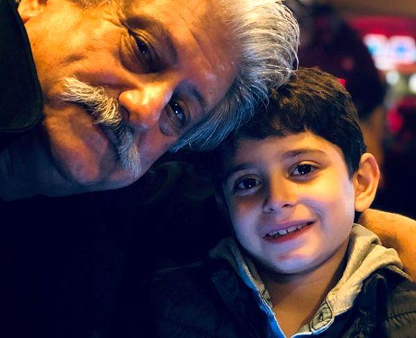 پسر زیبای بابک جهانبخش+عکس