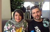 الهام کردا و رفیق بازیگرش در رستوران + عکس