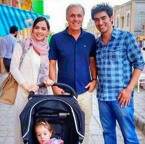 دیدار خانوادگی ترانه علیدوستی با شهاب حسینی+عکس