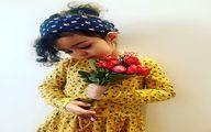 عکس دختر با ناز و زیبای آزاده نامداری