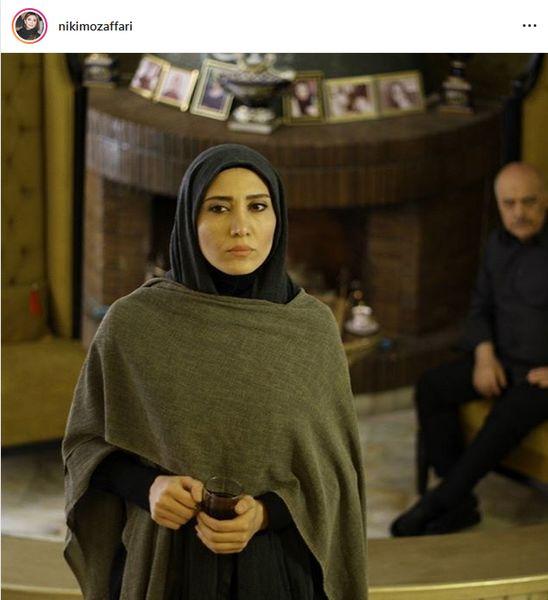 عکس دختر مجید مظفری در سریال تلویزیونی