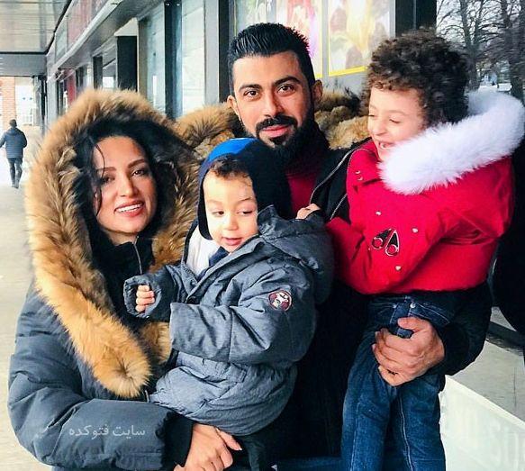 خانواده عاشق روناک یونسی در کانادا+عکس