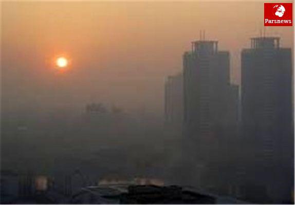 مرز نزدیک آلوده ترین و پاک ترین مناطق هوای تهران
