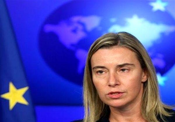 موگرینی، احتمال اعمال تحریمهای جدید اروپایی علیه ایران را رد کرد