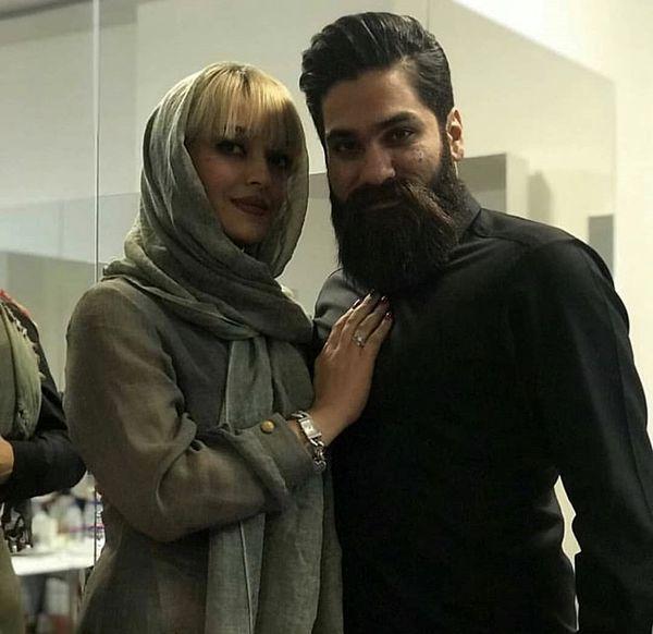 علی زند وکیلی وخاهرش + عکس