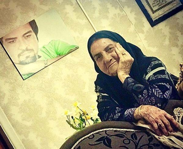 مادر مهربان شهرام قائدی در خانه اش + عکس