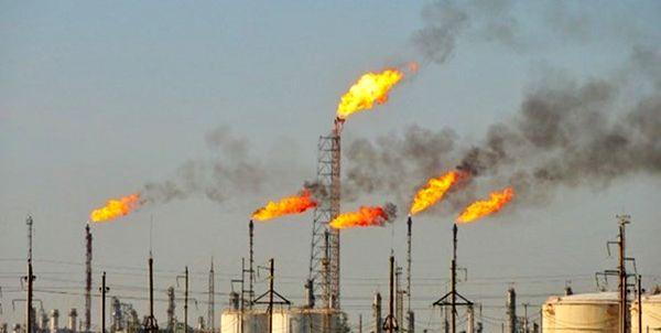رکورد هدر دادن گازهای همراه نفت در دولت دوازدهم شکست+نمودار