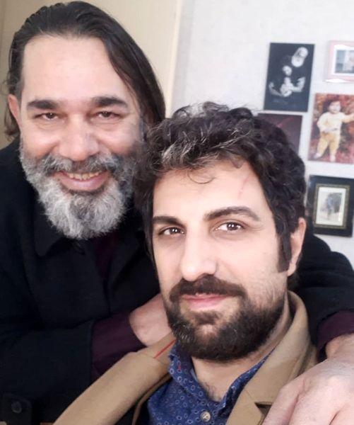 پولاد کیمیایی در کنار بازیگر معروف + عکس