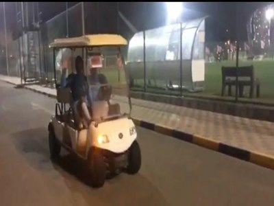 ماشین سواری مهاجمان استقلال در قطر +عکس
