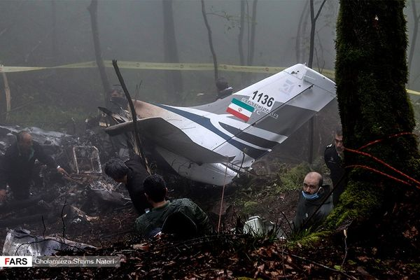 سقوط هواپیمای ناجا در مازندران