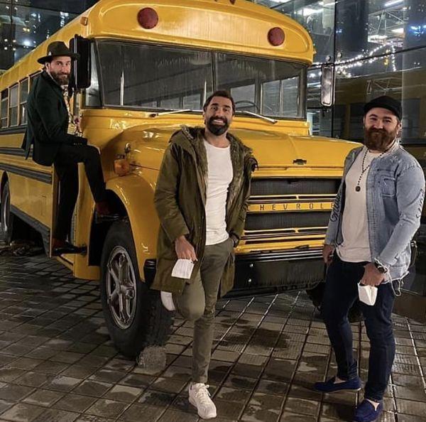 هادی کاظمی و برادرانش + عکس