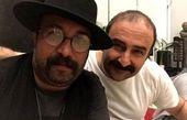 مهران احمدی و رفیقش + عکس