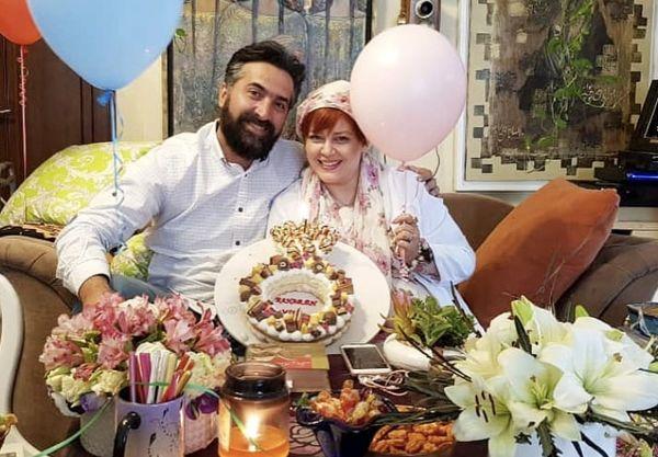 سالگرد ازدواج بهاره رهنما و همسرش + عکس