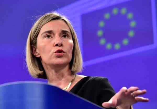 موگرینی: اروپا تلاش میکند برجام را در سال جدید حفظ کند