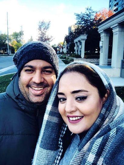 نرگس محمدی در کنار بهترین دوستش
