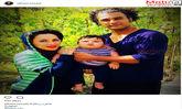 سعید یاردوستی به همراه همسر و فرزندش (عکس)