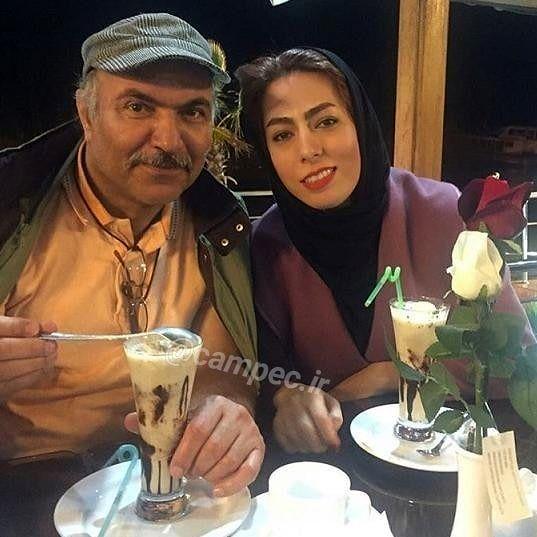 غلومی بدجنس ستایش و همسرش+عکس